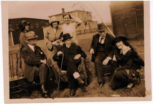 Peter Ferguson and family