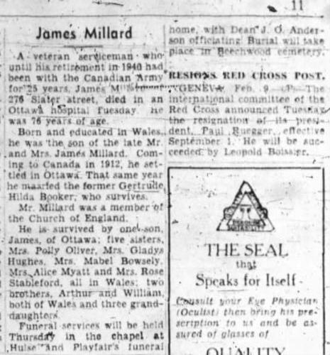 Grandpa James Millard