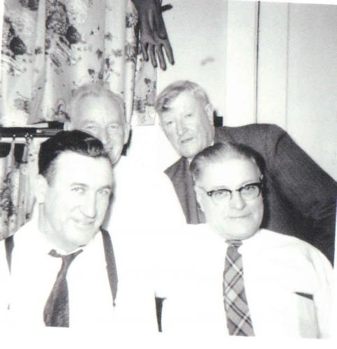 Johnny Buck Macdonald  Neil Ferguson  Donald John Macdonald  Murdock Ferguson 1961
