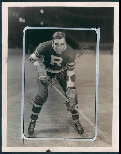 Edgar Gromoll Hockey Photo