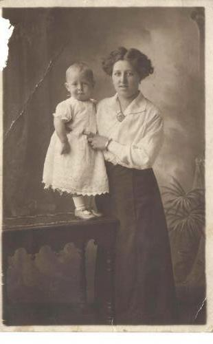 Alice Millard and baby